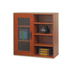 Après Single-Door Cabinet w/Shelves, 29-3/4w x 11-3/4d x 29-3/4h, Cherry