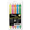 Sharpie Accent Accent Liquid Pen Style Highlighter, Chisel Tip, Assorted, 5/Set (SAN24555)