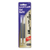 Refill For Uni-Ball Signo Gel 207, Medium, Black Ink, 2/pack