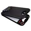 Deskmate Ii W/calculator, 1/2 Clip Cap, 8 1/2 X 12 Sheets, Black