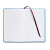 Record Ledger Book, 7 5/8 X 12 1/8, Blue Cloth Cover, 150 Pages