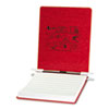 "Presstex Covers W/storage Hooks, 6"" Cap, 9 1/2 X 11, Executive Red"