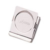 """Magnetic Clip, Metal, 7/8"""" Cap, Small, 1 1/2""""w, Chrome"""