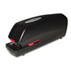 Portable Electric Stapler, Full Strip, 20-Sheet Capacity, Black