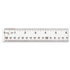 "See Through Acrylic Ruler, 12"", Clear"