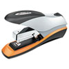 Optima Desktop Staplers, Half Strip, 70-Sheet Capacity, Silver/black/orange