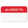 LABEL,ALLERGIC TO:,RD