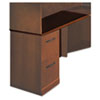 Sorrento Left Return Top w/Modesty Panel, 48 x 20 x 29-1/2, Bourbon Cherry