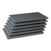 "Industrial Steel Shelving for 87"" High Posts, 36w x 24d, Medium Gray, 6/Carton"