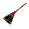 PROFESSIONAL OSTRICH FEATHER DUSTER, WOOD HANDLE, 20