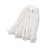 Cut-End Wet Mop Head, Rayon, No. 20, White, 12/carton