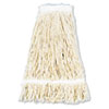 Pro Loop Web/tailband Wet Mop Head, Cotton, 24oz, White