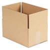 Brown Corrugated - Fixed-Depth Shipping Boxes, 12l X 8w X 6h, 25/bundle