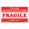 Picture of FRAGILE HANDLE WITH CARE Self-Adhesive Shipping Labels 3 x 5 500Roll