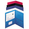 Universal® Two-Pocket Portfolios with Textured Covers