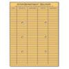 Light Brown Kraft String & Button Interoffice Envelope, 10 X 13, 100/box