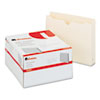 Economical File Jackets with Two Inch Expansion, Letter, 11 Point Manila, 50/Box