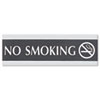 SIGN,NO SMOKNG,3X9,BKSV