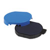 Trodat T5415 Stamp Replacement Ink Pad, 1 3/4, Blue