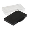 Trodat T5430 Stamp Replacement Ink Pad, 1 x 1 5/8, Black P5430BK