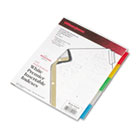 Gold Pro Insertable Tab Index, Multicolor 5-Tab, Letter, White Sheets WLJ54145