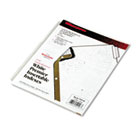 Gold Pro Insertable Tab Index, Clear 5-Tab, Letter, White Sheets WLJ54146