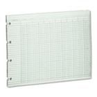 Accounting Sheets, 20 Column, 9-1/4 x 11-7/8, 100 Loose Sheets/Pack, Green WLJG1020