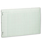 Accounting Sheets, 36 Columns, 11 x 17, 100 Loose Sheets/Pack, Green WLJG5036