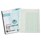 Accounting Pad, Five Eight-Unit Columns, 8-1/2 x 11, 50-Sheet Pad WLJG7205A