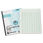 Accounting Pad, Eight Six-Unit Columns, 8-1/2 x 11, 50-Sheet Pad WLJG7208A