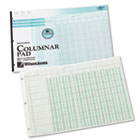 Side-Punched Columnar Pad, 12 8-Unit Columns, Perforated Heading, 11 x 16-3/8 WLJG7212A