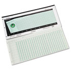 Accounting Pad, 25 Six-Unit Columns, 11 x 24 1/4, 50-Sheet Pad WLJG7225A