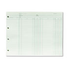 Accounting, 9-1/4 x 11-7/8, 100 Loose Sheets/Pack WLJGN2B