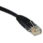 N002-010-BK 10ft Cat5e 350MHz Molded Cable RJ45 M/M Black, 10' TRPN002010BK
