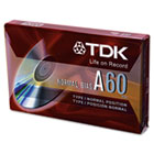 Standard Grade Audio & Dictation Cassette, Normal Bias, 60 Minutes (30 x 2) TDK20090