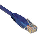 N002-002-BL 2ft Cat5e 350MHz Molded Cable RJ45 M/M Blue, 2' TRPN002002BL