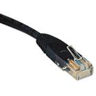 CAT5e Molded Patch Cable, 14 ft., Black TRPN002014BK