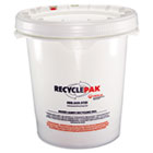 Prepaid Recycling Container Kit for Mixed Lamps, 5gal Round Pail, White SPDSUPPLY068