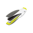SmartTouch Stapler, Full Strip, 25-Sheet Capacity, White/Yellow SWI66505