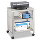 Impromptu Machine Stand, One-Shelf, 26-1/4w x 21d x 26-1/2h, Gray SAF1857GR