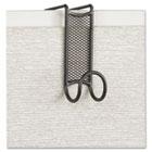 Onyx Panel/Door Coat Hook, Steel SAF4229BL