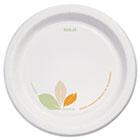 "Bare Paper Dinnerware, 8 1/2""Plate, Green/Tan, 250/Carton SCCOFMP9J7234"