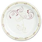 "Symphony Paper Dinnerware, Mediumweight Plate, 8 1/2"", Tan, 500/Carton SCCMP9J8001CT"