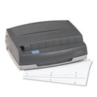 "50-Sheet 350MD Electric Three Hole Punch, 1/4"" Holes, Gray SWI9800350"