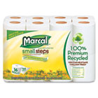 Small Steps 100% Recycled 2-Ply Toilet Tissue, 16 Rolls/Pack MRC1646616PK