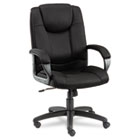 Logan Series Mesh High-Back Swivel/Tilt Chair, Black ALELG41ME10B