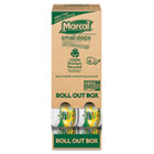 100% Recycled Roll-out Convenience-Pack Bath Tissue, 504 Sheets, 48 Rolls/Carton MRC6495