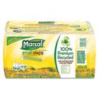 Marcal 100% Recycled Toilet Paper, 2 Ply, 4.3x3.7 in, 336 sht/rl, 4 rl/pk, 6 pk/ct MRC6224