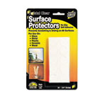 "Scratch Guard Surface Protectors, 3/4"" dia, Circular, Clear, 20/Pack MAS88600"