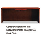 Mira Series Wood Veneer Center Drawer, 23w x 16d x 2h, Medium Cherry MLNMCD1MC